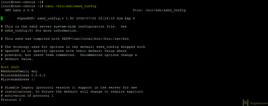 How to secure SSH on CentOS 6